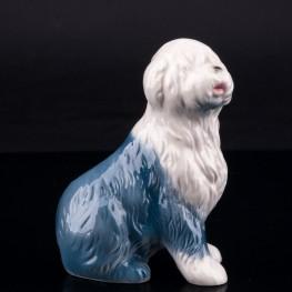 Фарфоровая статуэтка собаки Бобтейл (староанглийская овчарка), Goebel, Германия, до 1990 г.