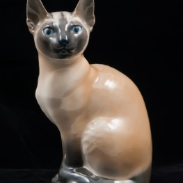 Сиамская кошка, Royal Copenhagen, Дания, 1960 гг